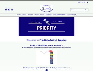 priorityindustrial.com screenshot