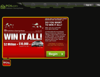prism.pch.com screenshot