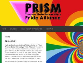 prism.truman.edu screenshot