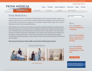 prismmedicalltd.com screenshot
