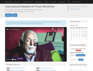prisonministry.net screenshot