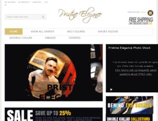 pristine-elegance.co.uk screenshot