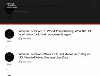 privacybasics.org screenshot