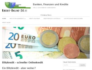 privat-kredit-report.de screenshot