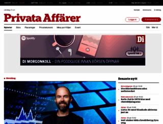 privataaffarer.se screenshot