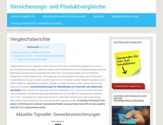 privatekrankenversicherungtest.de screenshot