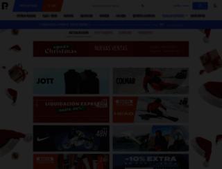 privatesportshop.es screenshot