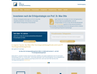 privatinvestor.de screenshot