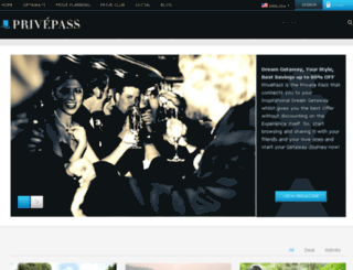 privepass.com screenshot