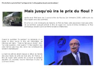 prix-du-fuel.com screenshot
