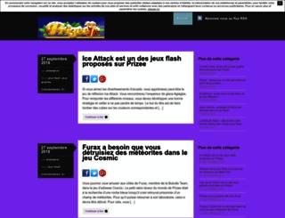prizeejeux.unblog.fr screenshot