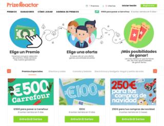 prizereactor.es screenshot