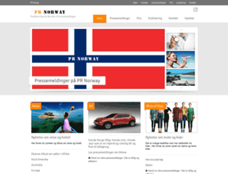 prnorway.com screenshot