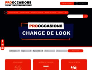 pro-occasions.com screenshot