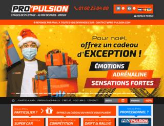 pro-pulsion.com screenshot