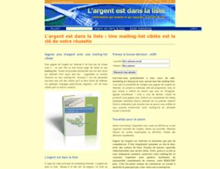 proactive-list.fr screenshot