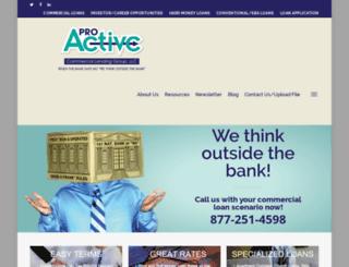 proactivelendinggroup.com screenshot