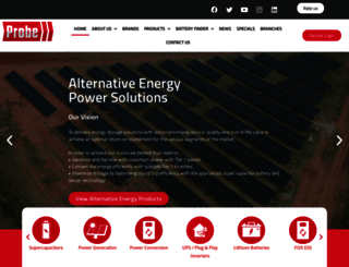 probegroup.co.za screenshot