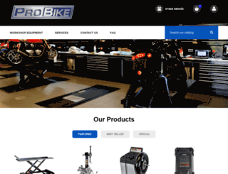 probike.co.uk screenshot