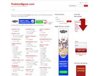 problembgone.com screenshot