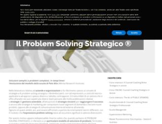 problemsolvingstrategico.it screenshot