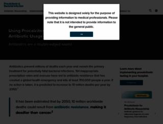 procalcitonin.com screenshot