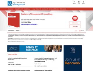 proceedings.aom.org screenshot