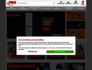 procie.com screenshot