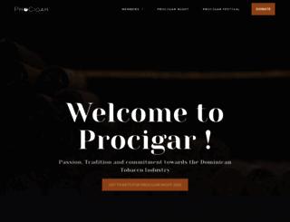procigar.org screenshot