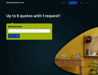 procompare.com screenshot