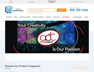 procosound.com screenshot