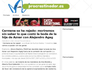 procrastinador.es screenshot