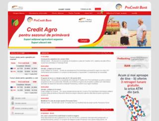 procreditbank.md screenshot