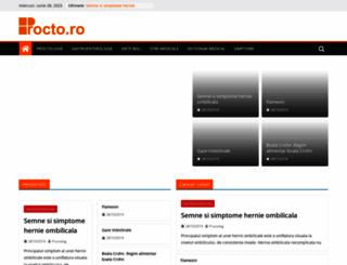 procto.ro screenshot