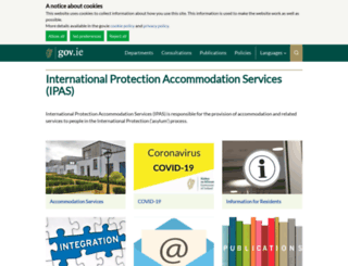 procurement.ie screenshot