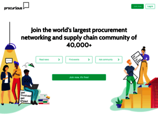 procurious.com screenshot