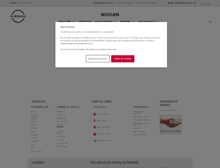 prod.nissan.eu screenshot