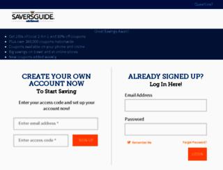 prod.saversguide.com screenshot