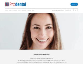 prodentalgroup.com screenshot
