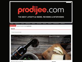 prodijee.com screenshot
