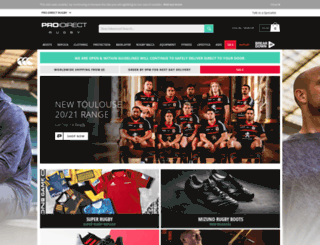 prodirectrugby.com screenshot