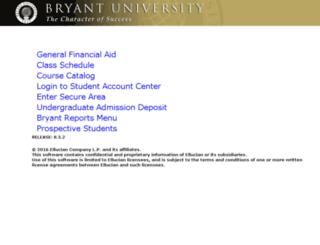 prodlinuxss.bryant.edu screenshot