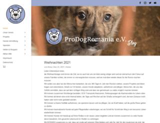 prodogromania.de screenshot