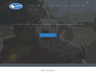 prodogsdirect.org.uk screenshot