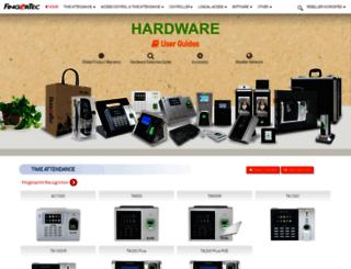 product.fingertec.com screenshot