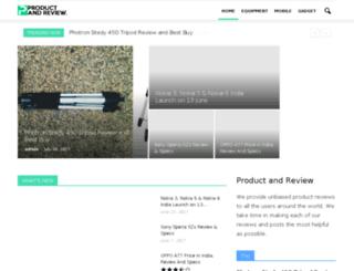 productandreview.com screenshot