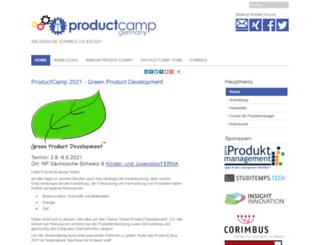 productcamp.de screenshot