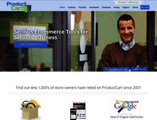 productcart.com screenshot