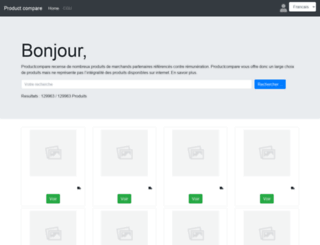 productcompare.net screenshot