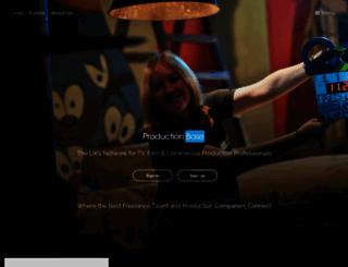 productionbase.co.uk screenshot